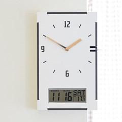 직사각 코너시계 - 갤린더
