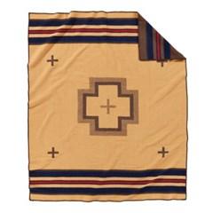 [펜들턴] 기모처리 된 자카드 블랭킷 로브 담요 쉘터베이