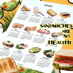 sandwich canvas calendar (2size)