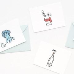 메세지 카드 - 버디 Ver.2