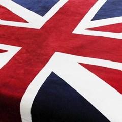 스노우아울 유니온잭 극세사 영국 국기 담요 블랭킷 특대형