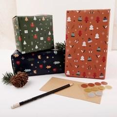 [기성]포장지해피 크리스마스