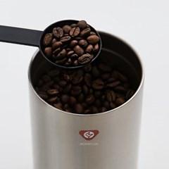 [빈플러스] 더블월 밀폐용기 더치커피 원두보관 스텐미니 350ml