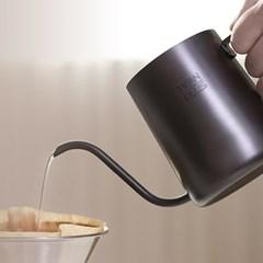 [빈플러스] 테프론 핸드드립 커피 드립포트 350ml
