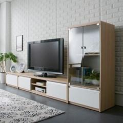 엘리브 몰리덴 1500 오픈형 거실장 af026