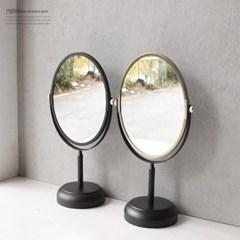 공간데코 스탠드 블랙 골드 거울 (5730)_(1208207)