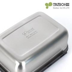 키친아트 멘토 스테인레스 김치통 핸디2호(2.45L)