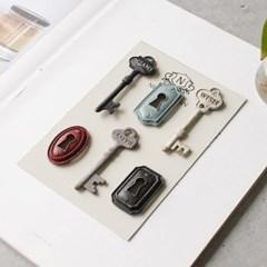 6P 열쇠 자석 세트_(1813278)