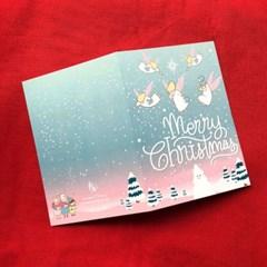 엔젤스노우 크리스마스 카드