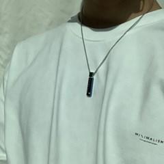 남자 목걸이 블루 스틱 펜던트 Blue Stick_(1064081)
