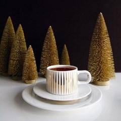 아사셀렉션 데코 테이블 전나무트리 크리스마스트리 골드 소 h11.5