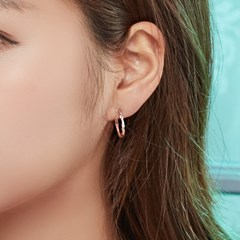 14k/18k 버클링 귀걸이