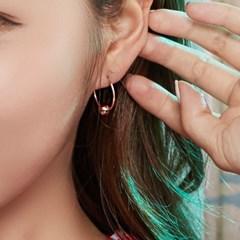14k 슬립볼 귀걸이