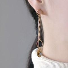 (92.5 silver) feminine drop earring