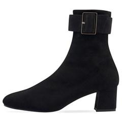 SPUR[스퍼] 삭스부츠 OF9067 Wide belt socks boots 블랙