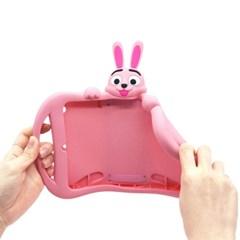 아이패드 7세대 10.2 토끼 캐릭터 실리콘케이스