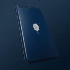 [무광]전통문양 아름다울 미 블랙 코발트 휴대폰 케이스