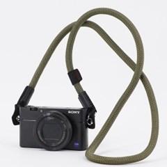 카메라 넥 스트랩 - 카키_(1718354)