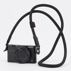 카메라 넥 스트랩 - 블랙_(1718357)