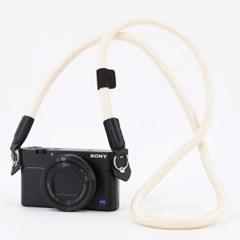 카메라 넥 스트랩 - 아이보리_(1718358)