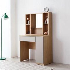 리브데코 올리브 수납화장대+수납거울