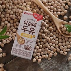 [서울우유] 아침에두유 병아리콩 전자레인지팩 4박스(200ml * 96팩)