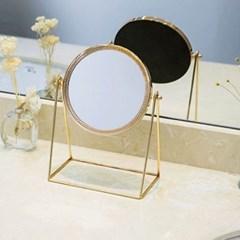 럭셔리 원형 탁상거울 1개