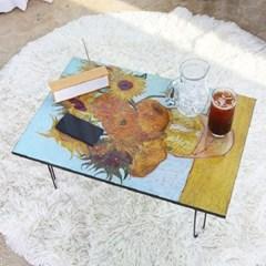 명화 액자 테이블(800*600) /다용도테이블