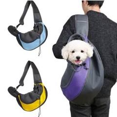 애완동물 외출가방 1개(색상랜덤)