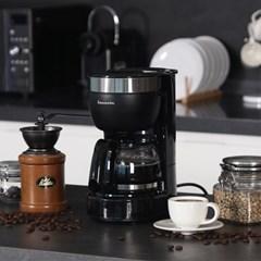 라쿠진 홈카페 미니 커피메이커 LCZ1002BK / 블랙