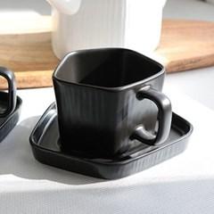 오각 커피잔 세트