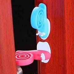 달팽이 도어가드 2개 1세트(색상랜덤)