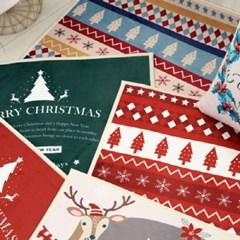 크리스마스 극세사 매트 - 5color