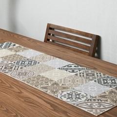 플로르 패턴 디자인 방수 테이블러그 매트 10종1택 S_(1457075)