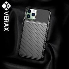 아이폰XR 심플 라인 범퍼 커버 젤리 케이스 P416_(2213297)