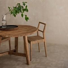 빌라르방 러스틱 라운드 테이블