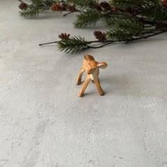미니 아기사슴 피규어