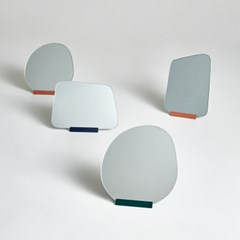 CURVED MIRROR - square