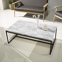 [데코마인] 자민 대리석 1000 소파테이블 거실테이블 좌식테이블