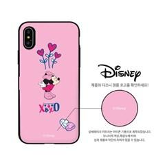 [T] 디즈니 XOXO 커플 미키미니 카드도어범퍼케이스