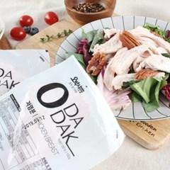 오다닭 훈제 닭가슴살 염분무첨가 저염분 100g 10팩