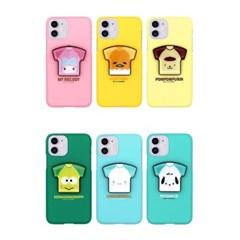 아이폰8 TC-산리오 캐릭터즈 티셔츠 스마트톡 하드 케이스
