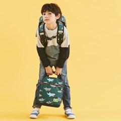 [초등학생 보조가방]호핑백 EarthEco_샤크딥그린