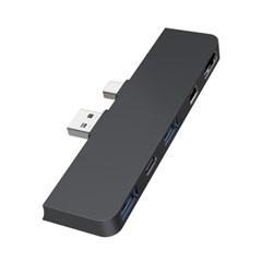 [해외직구] 하이퍼드라이브 서피스 프로전용 USB-C 5in2 멀티허브