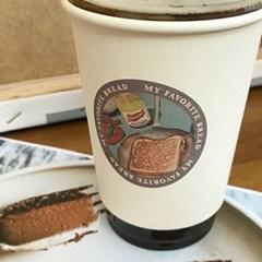 [소행섬] 빈티지 포인트 스티커팩 (토스트ver)