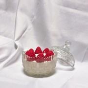 생크림에 빠진 딸기캔들