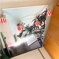 Stripe Ball String Lamp 줄무늬볼스트링램프