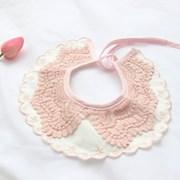 레이스 케이프 빕 핑크_(1003063)