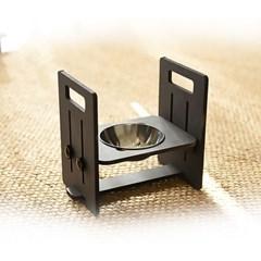 런메이크 맘마 높이각도조절 강아지밥그릇 고양이식기