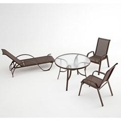 알루미늄 암체어 야외용 디자인 팔걸이 의자